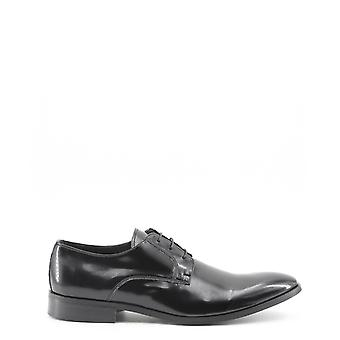 Man leather laced shoes mi91159