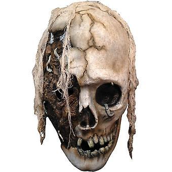 Skull Mask forntida för Halloween