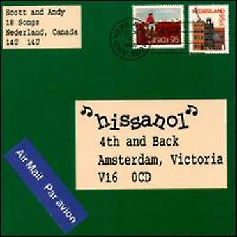 Hissanol - 4th & Back [CD] USA tuonti