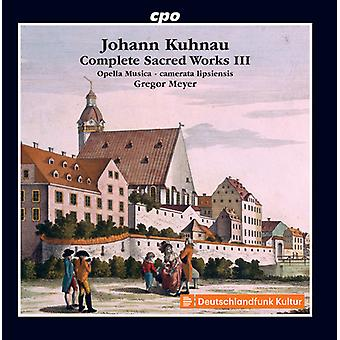 Kuhnau / Jantschek / Lipsiensis - Kuhnau / Jantschek / Lipsiensis: Complete Sacred Works [CD] USA import