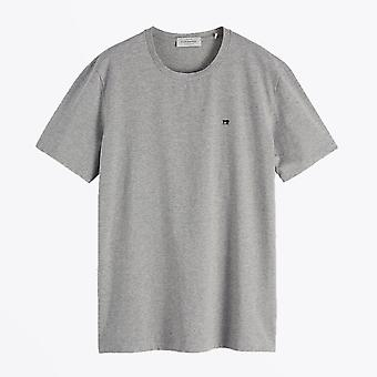 Scotch & Soda  - Classic Cotton Tee - Grey Melange