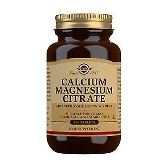 Calcium - Magnesium Citrate 100 tablets