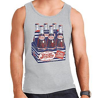 Pepsi Cola Retro Bottle Crate Men's Vest
