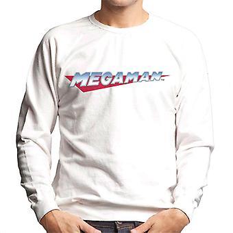 Mega Man Retro Logo Men's Sweatshirt
