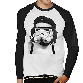 Alkuperäinen Stormtrooper Vallankumouksellinen parodia miesten ' s baseball pitkähihainen T-paita