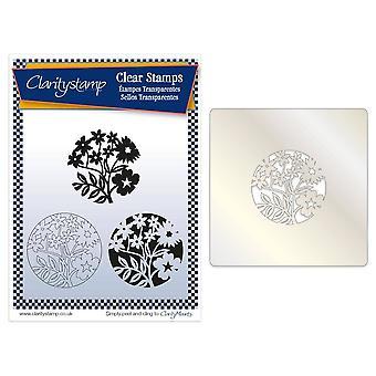 Claritystamp Periwinkle & Vrienden Stempel, Stencil &; Maskerset