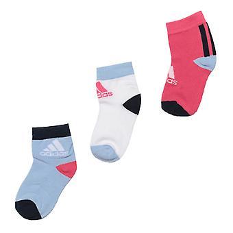 Girl's adidas Infant 3 Pack Socken in anderen