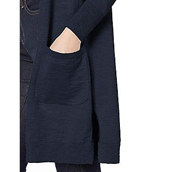 Merk - Daily Ritual Women's Lightweight Duster Cardigan, Navy, XX-Large