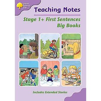 Biff Chip and Kipper Level 1 First Words Big Book Teaching Notes by Liz Miles & Thelma Page & Gill Howell & Pam Mayo & Mary Mackill
