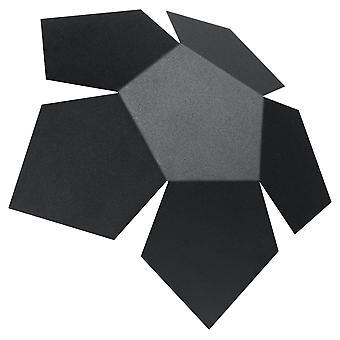 Sollux PENTA - 2 Light Wall Light Black, G9