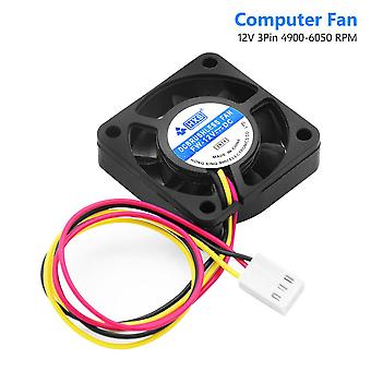 3-pins 9-blades Low-noise Dc-12v 40x40mm Computer/pc Cpu Cooling Fan, Heatsink