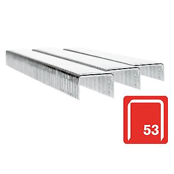 Rapid 53/6B 6mm Galvaniseerde Staples Box 2500 RPD536B2500