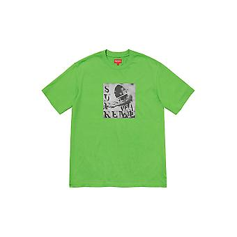 Supreme Javelin Label S/S Top Green - Clothing