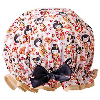 Dilly Daydream Japanse Poppen Shower Cap