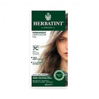 Herbatint - cabelo loiro cinza cor 7C 150 ml