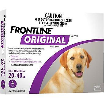 Frontline Original 4 Pack großen Hund