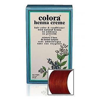 Colora Henna Creme - 100% Organic hair colour - Mahogany