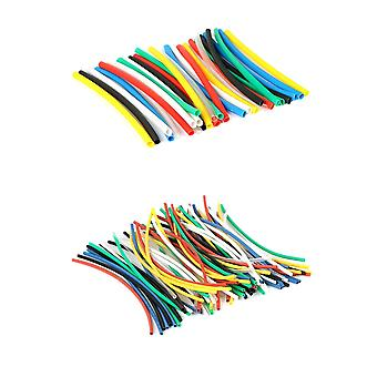 140pcs 7color Assortment 2:1 Heat Shrink Tube Tubing Sleeving Wrap Wire Cable