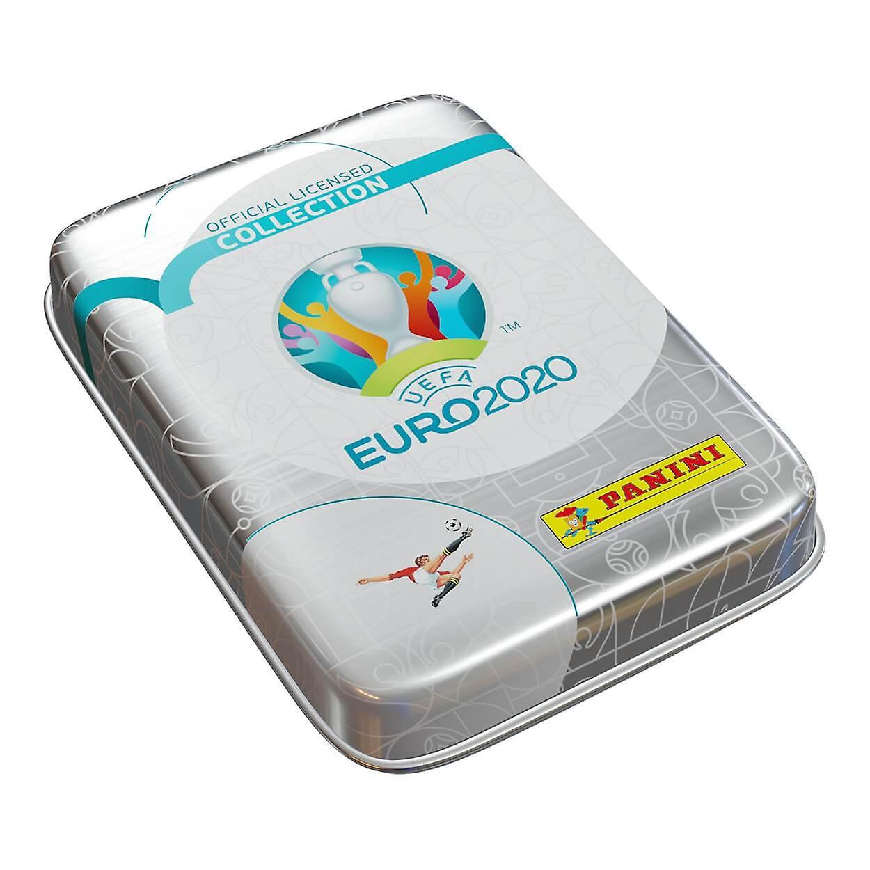 PANINI UEFA EURO 2020 ADRENALYN XL TRADING CARD COLLECTORS POCKET TIN EURO 2020