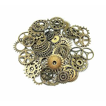 Charms Takı Çarkları ve Dişliler - Craft Arts Watch Parts Steampunk Cyberpunk Yapma