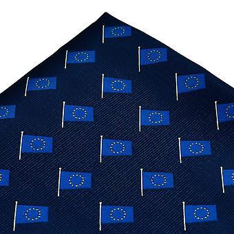Solmiot Planet Euroopan unionin lippu Euroopan laivasto sininen tasku neliö nenäliina