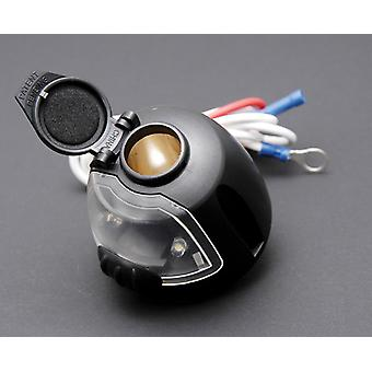 Hopkins 55120 12 Volt Power Socket with Utility Light