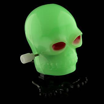 Fun Kids Wind Up Skull - Glow in the Dark X 1 Pack