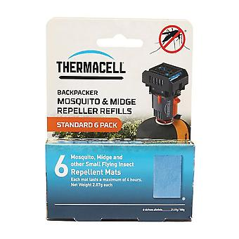 Thermacell Backpacker Mosquito Repellent Refills Mats Natural
