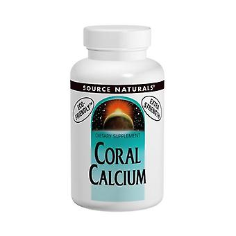 Source Naturals Coral Calcium, 120 Caps