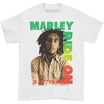 Bob Marley Ride On Pose T-shirt