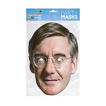 Mask-arade Jacob Rees-Mogg Celebrities Party Face Mask