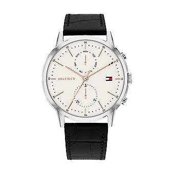 Tommy Hilfiger Relógio Masculino 1710434 Couro