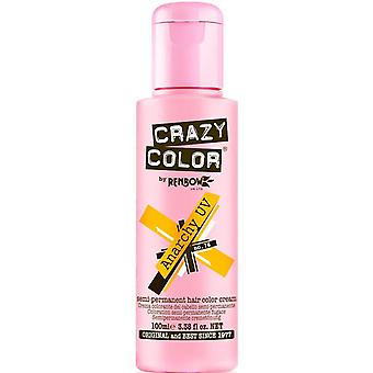 Renbow Crazy Color Semi Permanent Hair Dye - Anarchy Uv 100ml