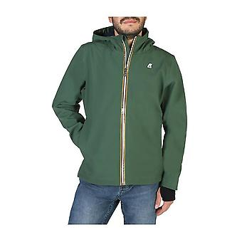K-Way - Clothing - Jackets - JACK-BONDED-K008J00_A27 - Men - darkolivegreen - XXL