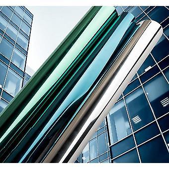 multi widthmirror isolasjon solar fargetone vindu film / klistremerker, uv reflekterende en