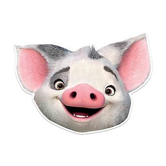 Pua Pig Official Disney Moana Child Size 2D Card Party Mask