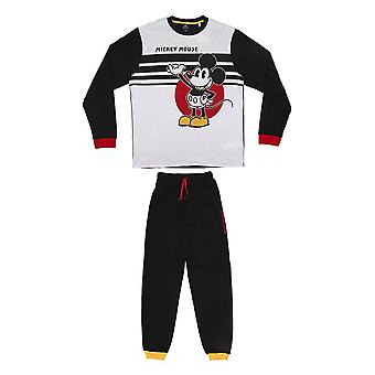 Men's Disney Classic Mickey Mouse Cuffed Pyjama Set