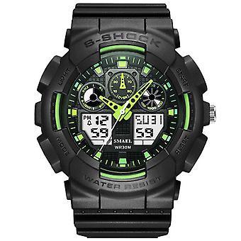SMAEL 1027 Modieuze mannelijke LED Digitaal Horloge Licht Schok waterdicht sporthorloge