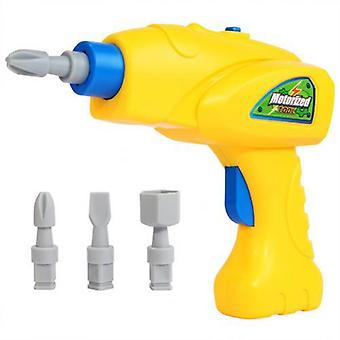 Simulare Rotativ Electric Drill Bits Puzzle Tool Model Pretend Play Kids