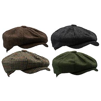 Walker and Hawkes - Unisex 8 Panel Wool Cap