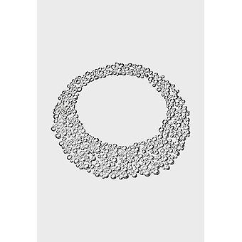 Kalevala Collier Femmes Hiver pearl argent 235131043 longueur mm 430