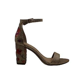 INC International Concepts Womens Kivah3 Fabric Open Toe Special Occasion Ankle Strap Sandals