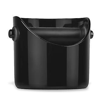 Container For Coffee Grounds - Black - Abs Plastic - Sturdy And Practical Solution For All Coffee And Coffee-machines Lovers !