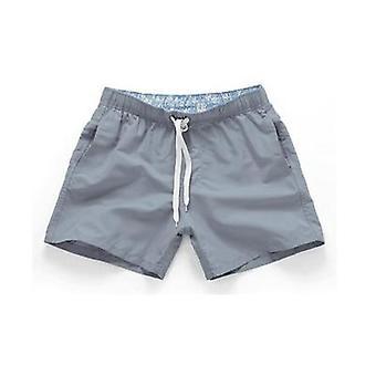 夏のショートパンツ、男性、女性の速い乾燥、カジュアルなビーチ弾性ウエスト