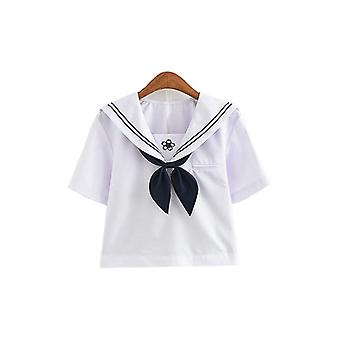 Jk Uniform Japan Fashion College Sailor Costume Pleated Anime Sweater