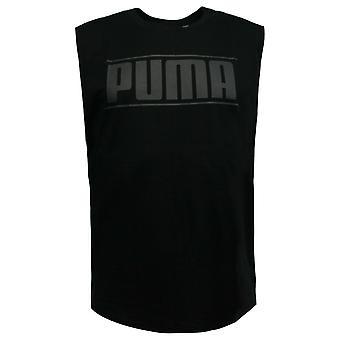 Puma Rebel Kamizelka męska bez rękawów Top Trening T-Shirt Czarny 850494 01 A56B