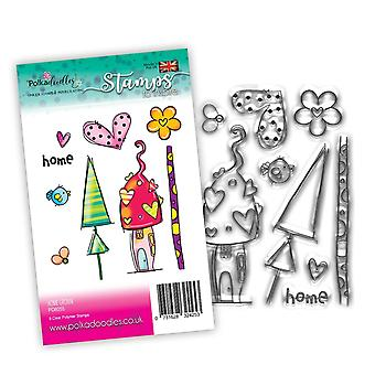 Polkadoodles Home Grown Clear Stamps