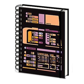 Star Trek Control Panel A5 Notebook