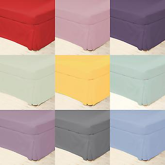 Belledorm Easycare Percale Plate-forme Valance