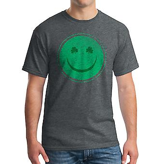 Humor Happy Irish Men's Dark Heather Funny T-shirt